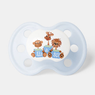 Zoo Animals It's a Boy Baby Pacifier
