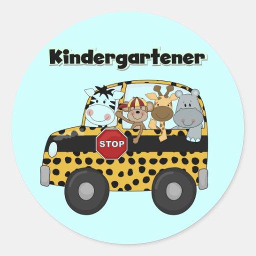 Zoo Animals Kindergartener Sticker