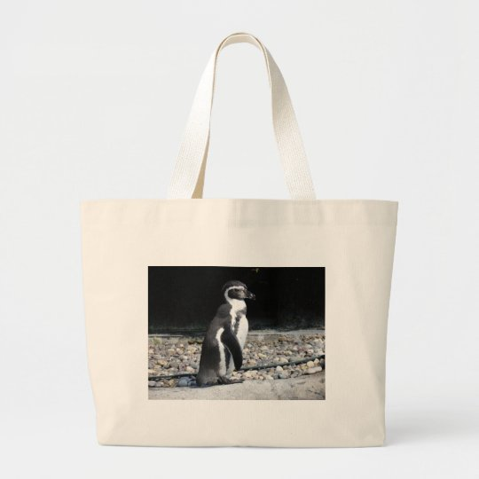Zoo Animals Large Tote Bag