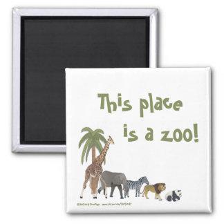 Zoo Animals Magnet