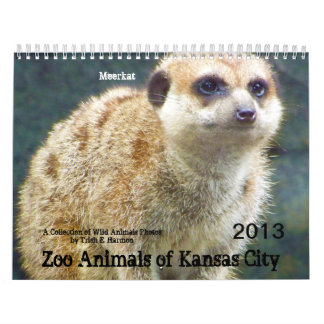 Zoo Animals of Kansas City Calendars