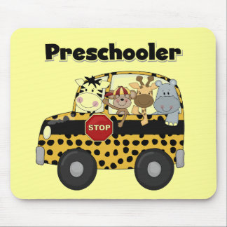 Zoo Animals Preschool Tshirts and Gifts Mouse Pad
