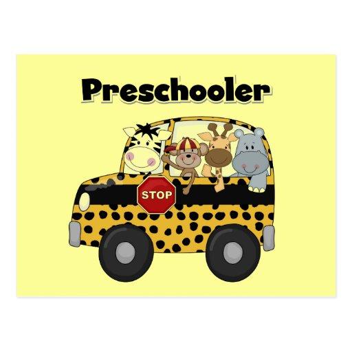 Zoo Animals Preschool Tshirts and Gifts Postcard