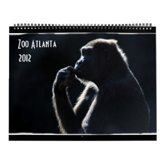 Zoo Atlanta 2012 Calendar