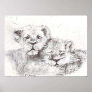Zoo Babies Print
