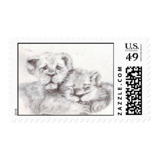 Zoo Babies Stamp