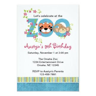 zoo invitations  announcements  zazzle, Birthday invitations
