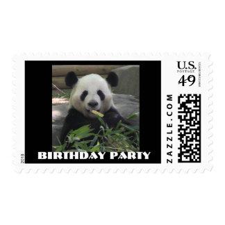 Zoo Birthday Party Postage