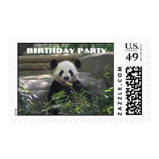 Zoo Birthday Paty Postage