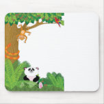 Zoo Border Mouse Pads