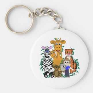 ZOO Boy Keychain