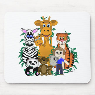 ZOO Boy Mouse Pads