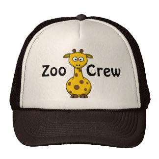 Zoo Crew Giraffe Mesh Hats