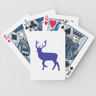 Zoo DEER Bicycle Playing Cards