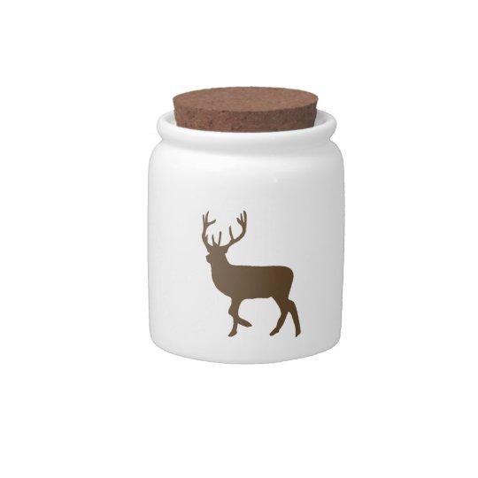 Zoo Deer Candy Jar