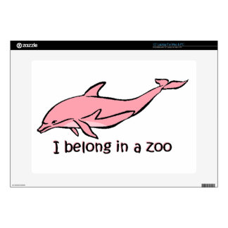 Zoo Dolphin Laptop Decals