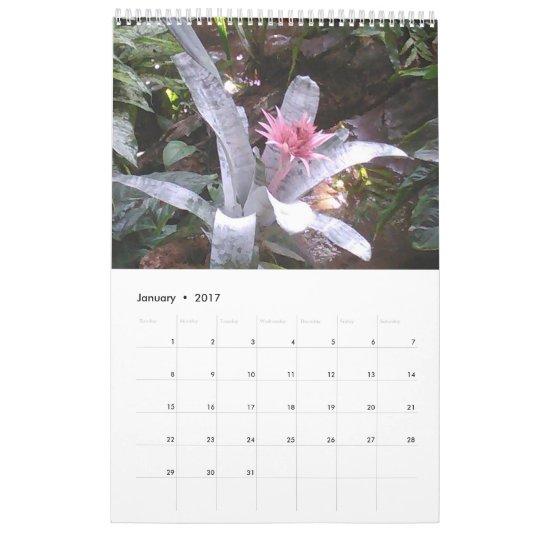 Zoo Flowers Calendar