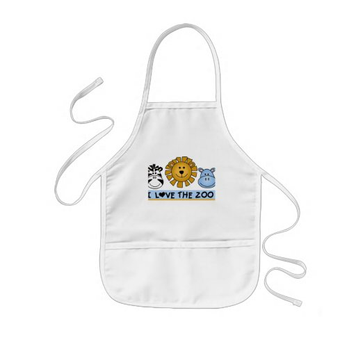 Zoo Friends T-shirts and Gifts Kids' Apron