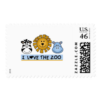 Zoo Friends T-shirts and Gifts Postage