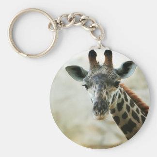 Zoo Giraffe Keychain