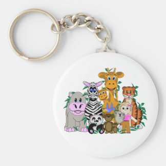 ZOO Girl Keychain
