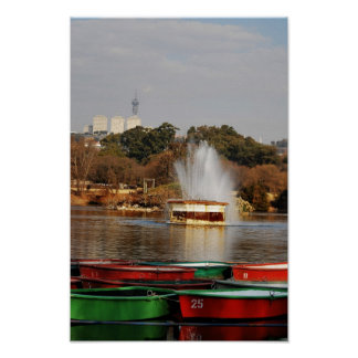 Zoo Lake Fountain Posters
