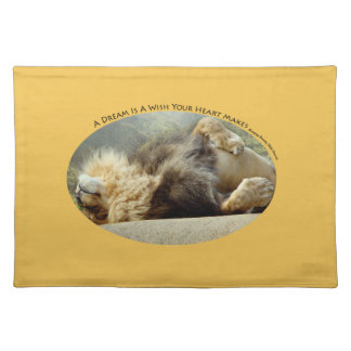 Zoo Lion Dreaming of a Jungle Placemat