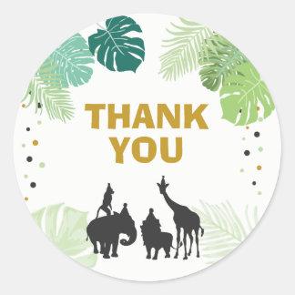 Zoo Party Favor Tags Safari thank you tags Jungle