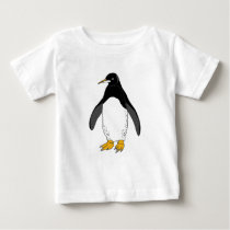 Zoo Penguin Baby T-Shirt