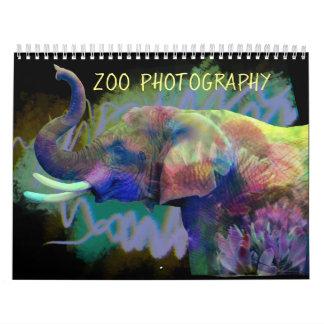 Zoo Photography Calendar
