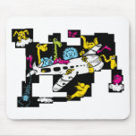 Zoo Plane Mouse Pads