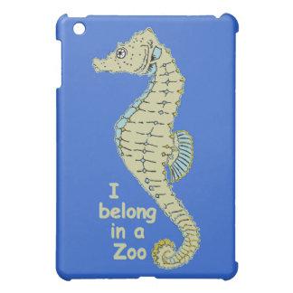 Zoo Seahorse iPad Mini Cover