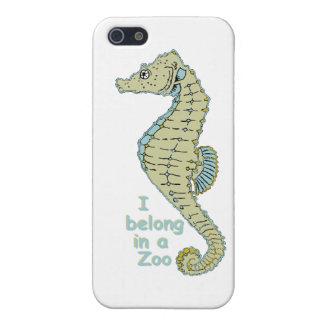 Zoo Seahorse iPhone SE/5/5s Case