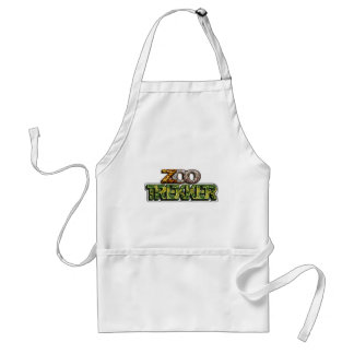 ZOO TREKKER - LOVER OF THE WILD ANIMALS ADULT APRON