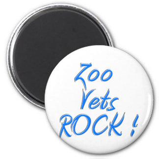 Zoo Vets Rock ! Magnet