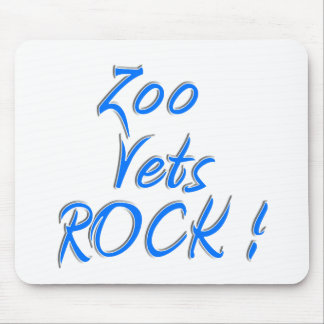 Zoo Vets Rock ! Mouse Pad