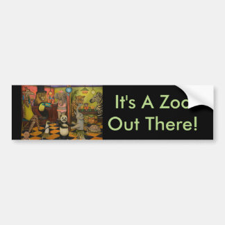 Zoobar Bumper Sticker