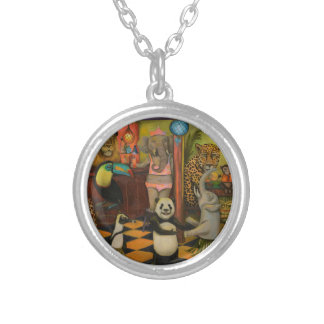 Zoobar Round Pendant Necklace