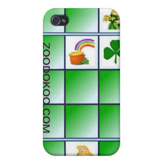 ZOODOKOO Irish your case iPhone 4/4S Case