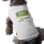 zooka del perro camisa de perro