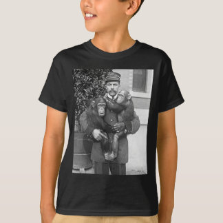 Zookeeper and Chimps, 1910 T-Shirt