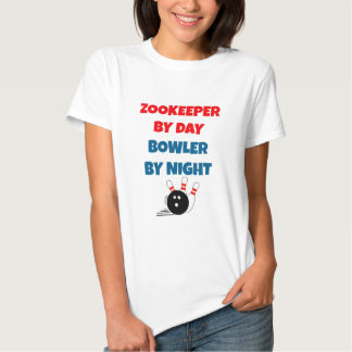 Zookeeper by Day Bowler by Night T-Shirt