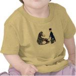 Zookeeper francés del parque zoológico del vintage camiseta