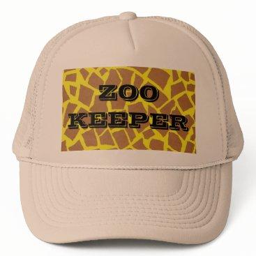 Halloween Themed Zookeeper Trucker Hat