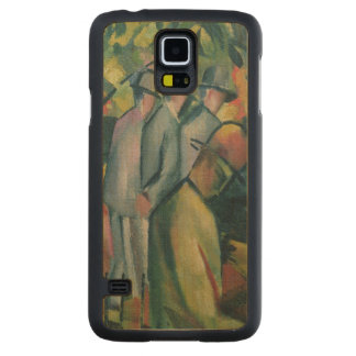 Zoological Garden I, 1912 Carved Maple Galaxy S5 Slim Case