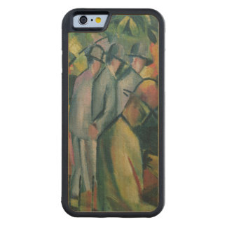 Zoological Garden I, 1912 Carved Maple iPhone 6 Bumper Case