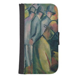 Zoological Garden I, 1912 Wallet Phone Case For Samsung Galaxy S4