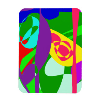 Zoological Garden Rectangle Magnets