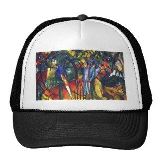 zoological gardens by August Macke Trucker Hat