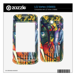 zoological gardens by August Macke Decals For LG Vortex